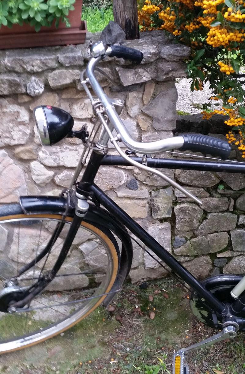 Bicicletta Francese Depoca Renard 285 Con 3 Marce E Freni A